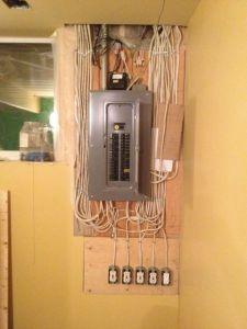 100 amp panel with shutoff