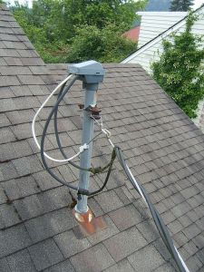 Rooftop weatherhead