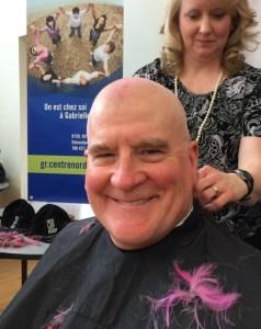 dorward bald shaved head