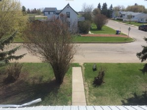 View from 3rd bedroom