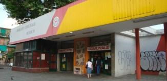 via Rombon, Mercato comunale