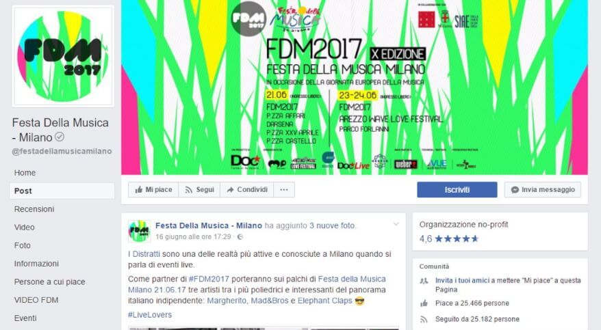 Festa della Musica 2017, esibizioni live a Corso Trieste