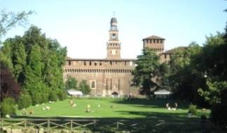 castello Sforzesco, piazza d'armi
