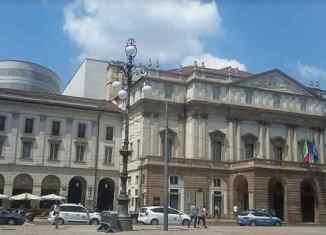 teatro alla Scala con Bolle