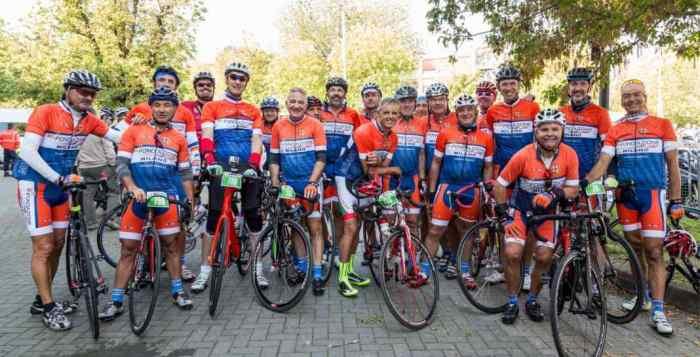 Milano, squadra atm ciclisti