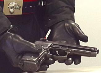 la pistola della rapina