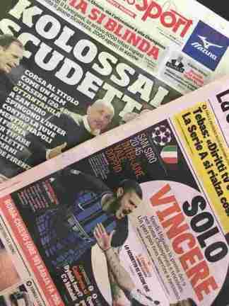 img_4762-324x432 Le prime pagine in casa Inter: ecco i quotidiani Calcio Sport