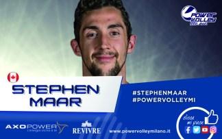"""PVM_StephenMaar-324x203 - Maar si presenta in casa Revivre Milano: """"Voglio portare in alto la mia squadra""""  - Pallavolo Sport"""