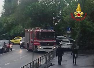 vigili del fuoco Milano, via San clombano