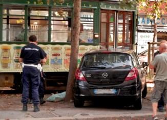 tram 19 e vigili stazione Domodossola