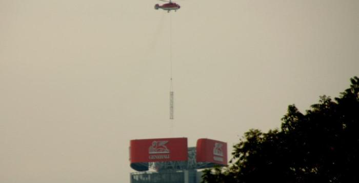 elicottero torre generali