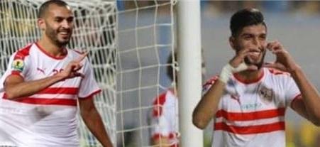 ربوطيب يغيب وساسي يشارك في مباراة الزمالك والمقاولون بعد موافقة الإتحاد التونسي