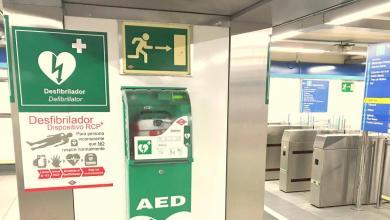 Photo of Trabajadores del Metro salvan la vida a un hombre de 50 años que había entrado en parada cardiorrespiratoria