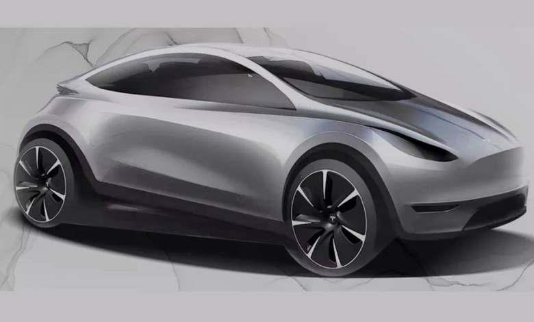 el-coche-electrico-mas-pequeno-de-tesla,-inspirado-en-el-diseno-chino