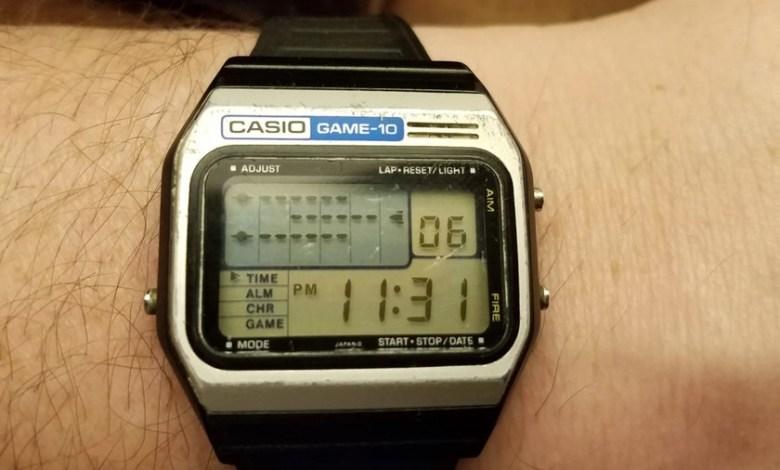 los-smartwatch-que-se-adelantaron-a-su-tiempo:-como-eran-los-casio-que-ya-tenian-videojuegos-en-los-80