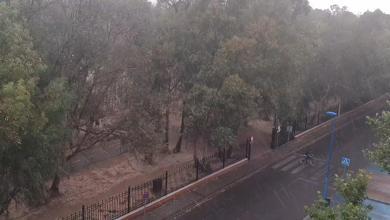 Photo of Una fuerte tormenta descarga sobre el centro de Madrid