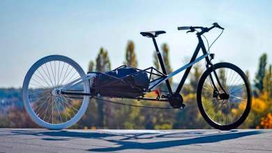 Photo of Convercycle, una curiosa bicicleta eléctrica extensible que se transforma en una bici de carga