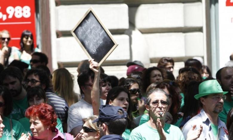 madrid-cifra-en-un-4,5%-el-seguimiento-de-la-huelga-educativa-y-los-sindicatos-denuncian-«servicios-minimos-abusivos»