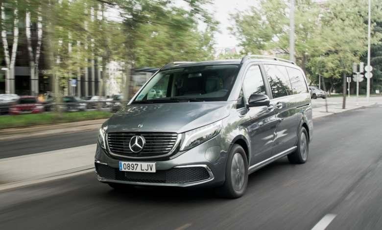 probamos-la-mercedes-eqv-300:-una-furgoneta-electrica-a-todo-lujo-y-confort,-con-357-km-de-autonomia