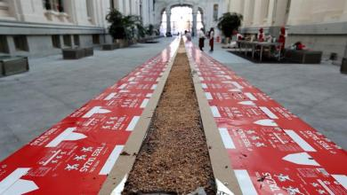 elaboran-en-madrid-el-mayor-turron-del-mundo:-200-kilos-de-chocolate