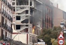 al-menos-tres-muertos-por-una-explosion-en-el-centro-de-madrid-junto-a-una-residencia-y-un-colegio