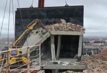 demolido-el-torreon-del-edificio-que-explosiono-en-madrid-por-riesgo-de-caida-a-la-calle-y-al-colegio