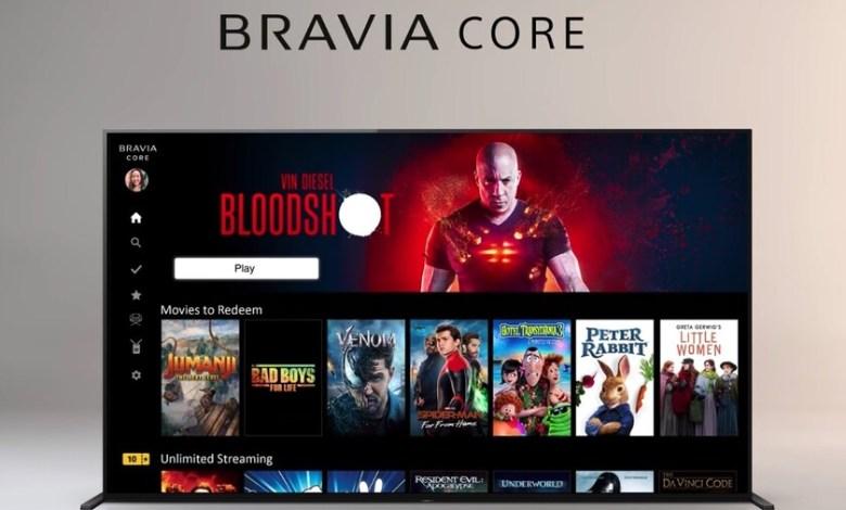 bravia-core:-el-nuevo-servicio-de-streaming-integrado-en-los-televisores-sony-con-peliculas-en-4k-hdr-y-bitrate-de-hasta-80-mbps