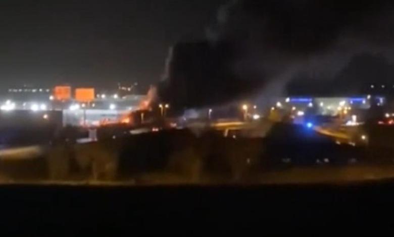 aparatoso-incendio-sin-heridos-en-un-parking-de-caravanas-de-alcala-de-henares