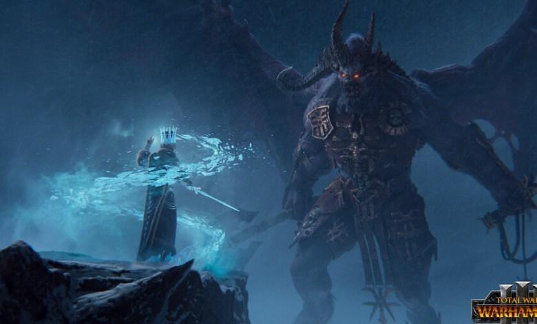trailer-de-'total-war:-warhammer-iii':-el-universo-de-combates-colosales-entre-demonios-y-humanos-llega-a-pc-en-2021