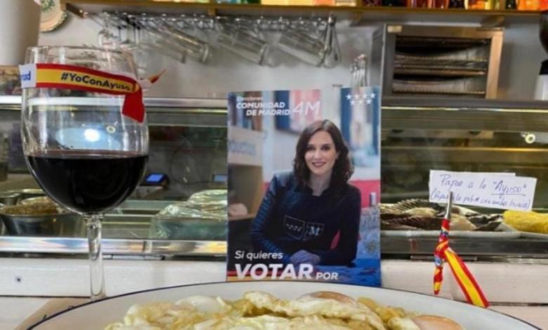 """""""patatas-a-lo-ayuso"""",-""""ayuso-somos-todos""""…-los-hosteleros-de-madrid-se-vuelcan-con-la-presidenta-madrilena"""