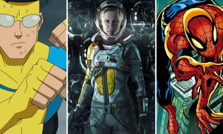 13-estrenos-y-lanzamientos-imprescindibles-para-el-fin-de-semana:-'returnal',-'invencible',-'spider-man'-de-byrne-y-mucho-mas