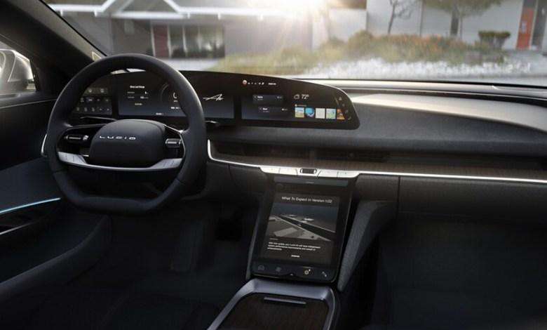 lucid-presume-de-una-alucinante-pantalla-curva-de-34-pulgadas-y-resolucion-5k-en-su-coche-electrico,-el-lucid-air