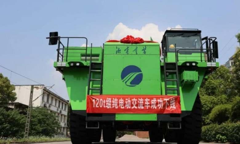"""china-fabrica-el-""""primer""""-camion-minero-electrico-de-baterias-del-mundo"""
