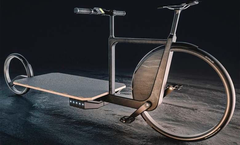 lara:-una-bicicleta-electrica-de-carga-que-elimina-por-completo-los-radios-de-las-ruedas