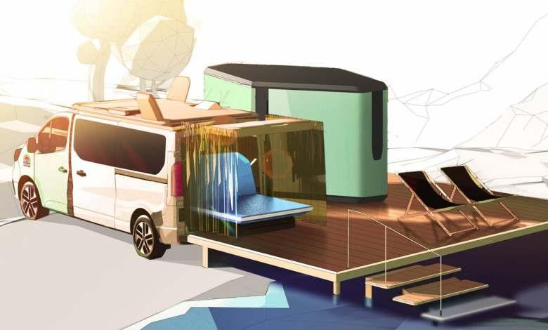 hippie-caviar-hotel:-una-caravana-electrica-de-lujo-presentada-por-renault