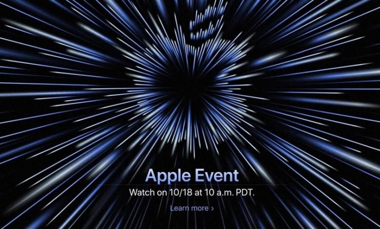 """apple-nos-mostrara-algo-""""desatado""""-en-un-evento-el-proximo-lunes-18-de-octubre"""