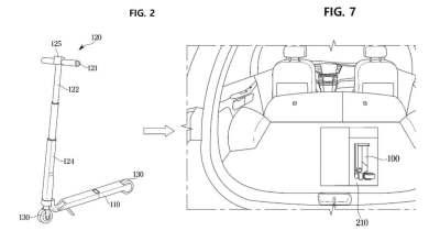 hyundai-patenta-un-patinete-electrico-que-se-pliega-para-ocupar-un-espacio-infimo-en-sus-coches-electricos
