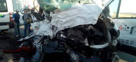 ثلاثة قتلى وإصابة عشرين جريح في حادث اصطدام حافلتين لنقل العمال بطنجة