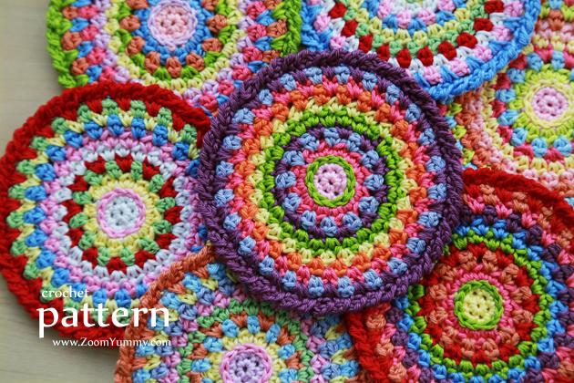 Colorful Mosaic Coasters