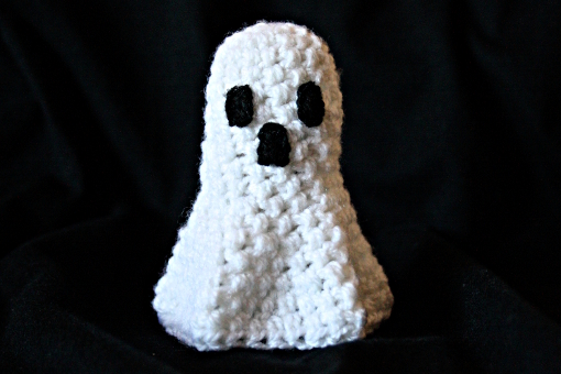 Crochet Halloween Amigurumi Ghost
