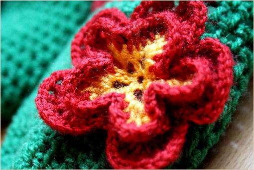 crochet flower free pattern