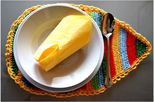 Crochet Easter Placemats