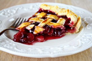 cherry pie recipe with step by step pictures and list of ingredients, delicious simple cherry pie, best cherry pie