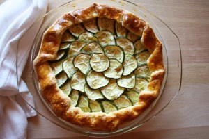 galette with ricotta and zucchini recipe with step by step pictures, recipe, pictures, images, ingredients