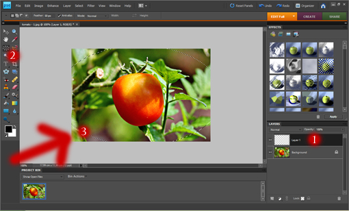 how to make darkened edges Photoshop picture tutorial, how to create dark vignette in Photoshop step-by-step tutorial
