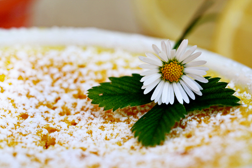 lemon delight, lemon souffle recipe with step-by-step images