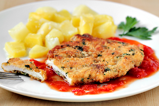 crispy chicken breasts recipe, breaded chicken breasts recipe