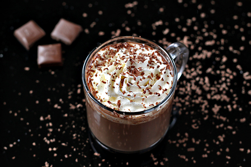 homemade hot chocolate recipe with step by step pictures