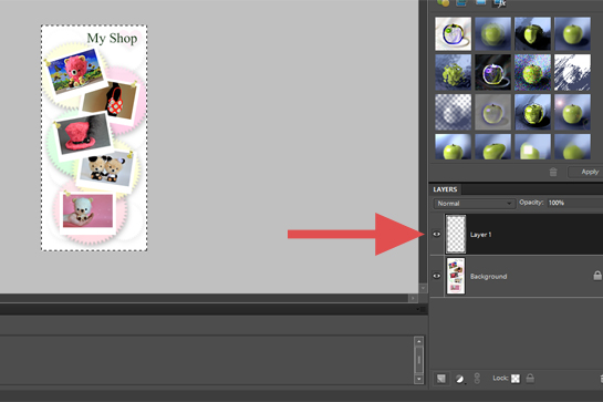 Photography, How To Add A Border To A Picture step by step picture tutorial, make sure that your newly opened layer in the right-hand layer palette is highlighted