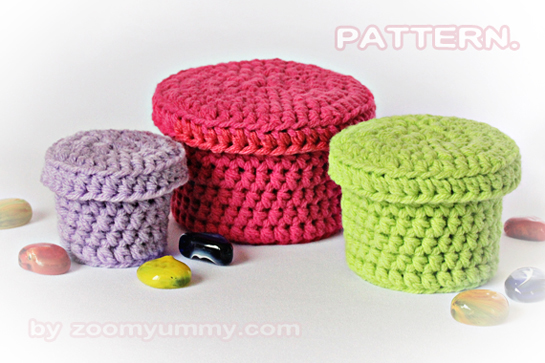 Knitted Baby Food Lids
